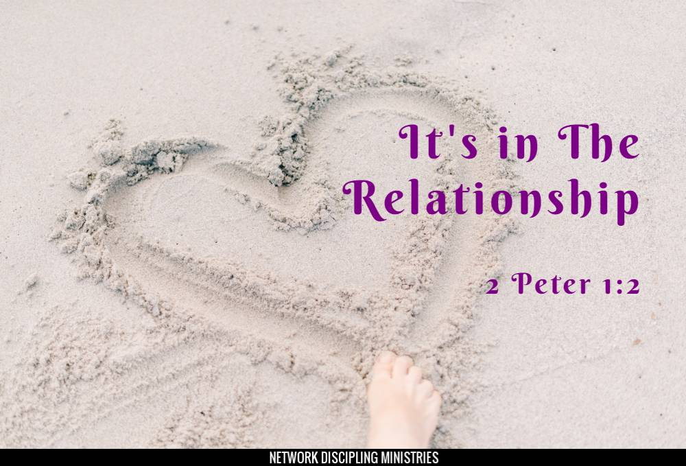 It's in The Relationship Image