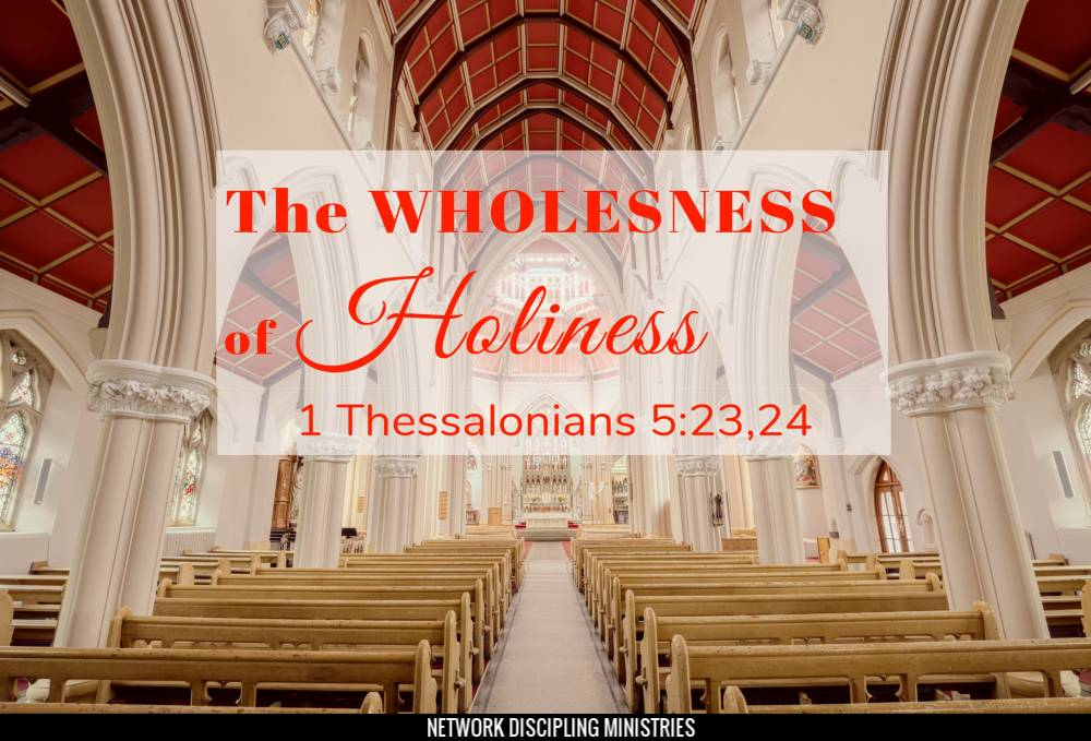The Wholeness of Holiness Image